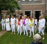 Encore bij hofjesconcerten in Haarlem