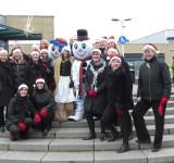 Kerst in winkelcentrum Berkel en Rodenrijs